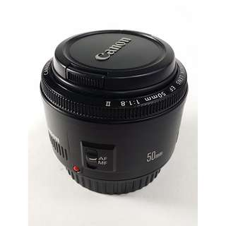 Canon EF 50mm F1.8 II (CL014)