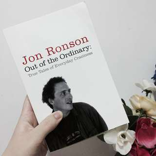 Out of Ordinary by Jon Ronson