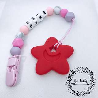 Customized Handmade Pacifier Clip