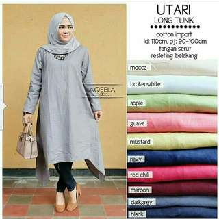 Utari  long  tunik