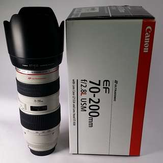 Canon EF 70-200mm f2.8L USM (CL024)