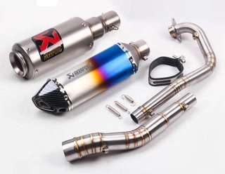 Akrapovic Y15ZR (Stainless Steel)