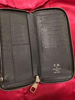 Black lv wallet