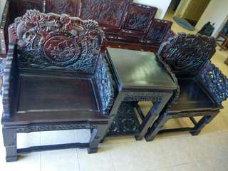 Antique old furniture chair