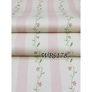 Meth wallpaper per roll 45cmx5meter promo murah