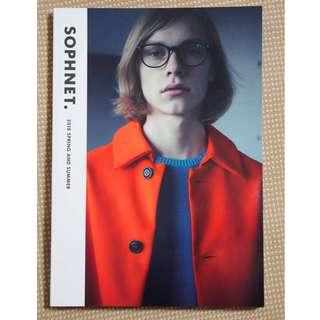 SOPHNET. uniform experiment ue F.C.Real Bristol F.C.R.B. 2018 S/S Collection Catalog Lookbook 春夏系列產品目錄