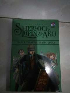 Novel Sherlock, Lupin & Aku 2