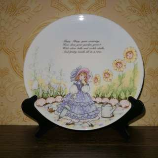 Nursery rhyme series decor plate