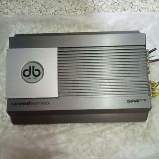 DB Drive Amplificador Speed Series Spa 120.4 Channel 3/4