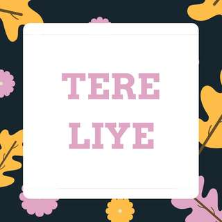 E-BOOK PDF NOVEL TERE LIYE