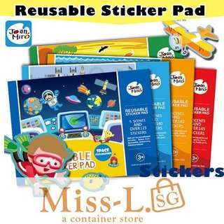 ❤️ REUSABLE STICKERS GAME PAD TYPEA