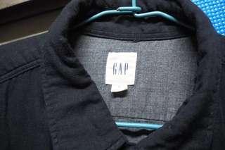 GAP黑襯衫/7.5成新✨