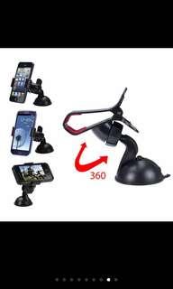 360 rotation mobile phone holder