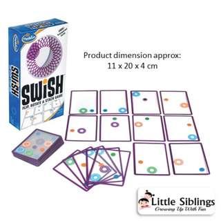 ThinkFun - Swish - Flip, Rotate and Stack Game