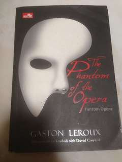 Novel Phantom of the Opera