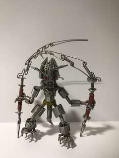 Wire alloy robot toys