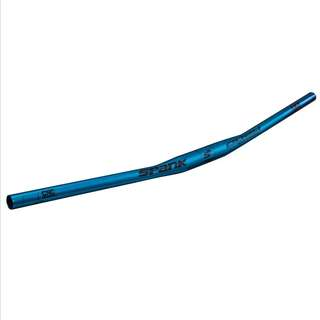 🆕! Spank 760mm Oozy MTB Trail 15mm Rise Blue Handlebar 31.8mm     #OK