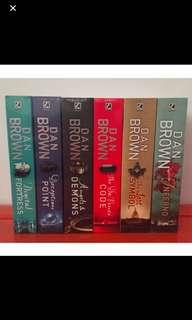 Dan Brown novels set