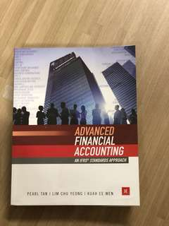 AC3102 TEXTBOOK ADVANCED FINANCIAL ACCOUNTING
