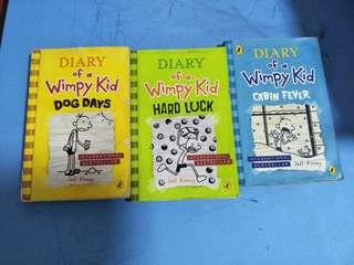 Diary Of A Wimpy Kid - 13 books