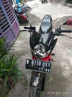 Satria FU thn 2012