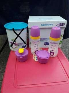 Tupperware Twinkle Baby Set- loose