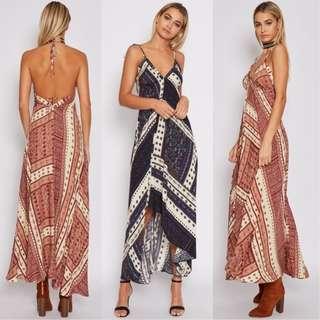 [PO] Boho Strap Backless Maxi Dress (53)