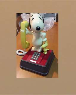 BNIB 70/80s 40 Year Old Snoopy n Woodstock Character Phones