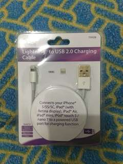 Lightning USB 2.0 Charging Cable