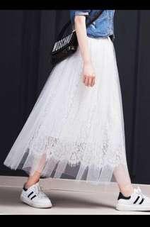 Lace+ soft tutu skirt