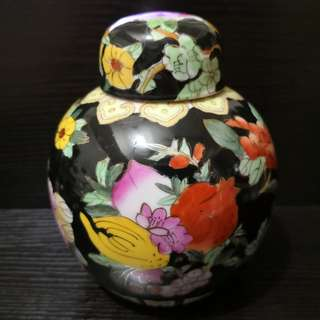 Flower Chinese Ginger jar