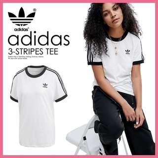 Adidas 3-stripe California tee 18最新款