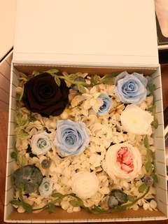 Preserved rose box