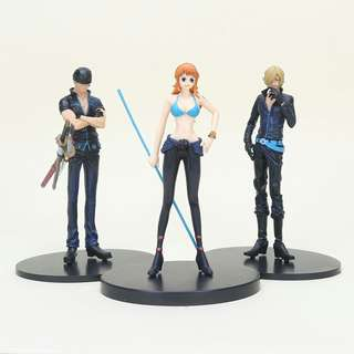 Set of 3! One piece (loose)