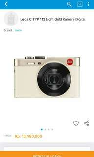 saya punya leica typ 122 like new no box