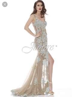Jadore floral prom/ formal dress