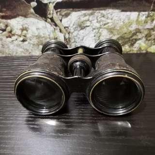 Brass vintage telescope