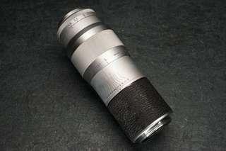 Leica 135mm f4.5 hektor 13.5cm l39 ltm leitz vintage film camera lens trsted working