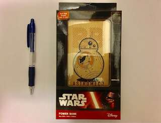 Star Wars™ BB8 Power Bank (金屬製外殼)