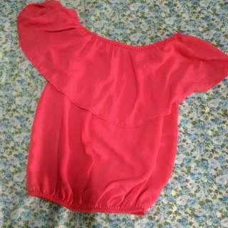 blouse offshoulder