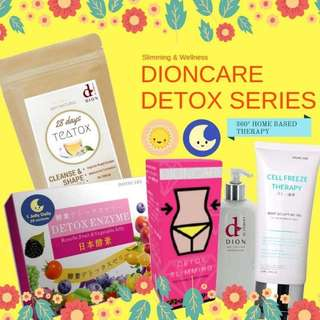 Slimming detox series