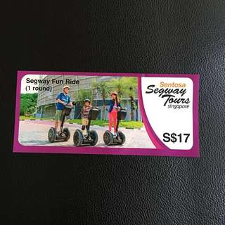 WTS  Sentosa Segway Fun Ride  $10