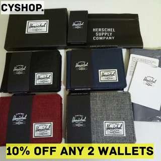 [100% AUTHENTIC] Herschel Roy Coin Wallets