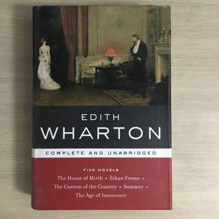 Edith Wharton Five Novels