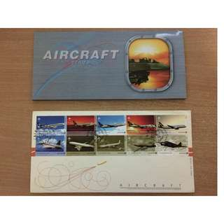 Singapore 2003 Aircraft series stamps