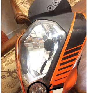 Ktm duke headlamp