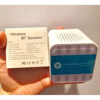 JANUS CAPITAL Wireless Speaker 無線喇叭 揚聲器