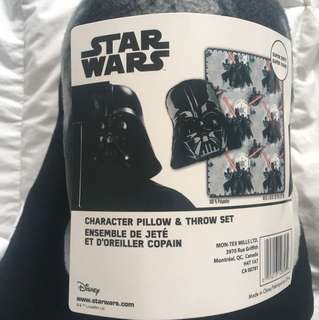 Brand New ‼️ Star Wars pillow and blanket