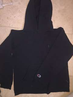 champions hoodie size S