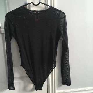 LaSenza mesh body suit